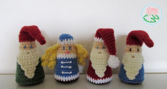 AMIGURUMI Gnome, Santa, Snegurochka (© 2013 Toma Creations) (6)
