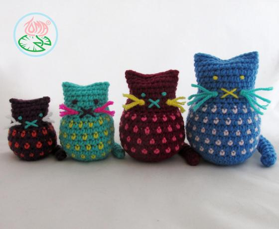 AMIGURUMI CAT FAMILY - 2015 Toma Creations 2
